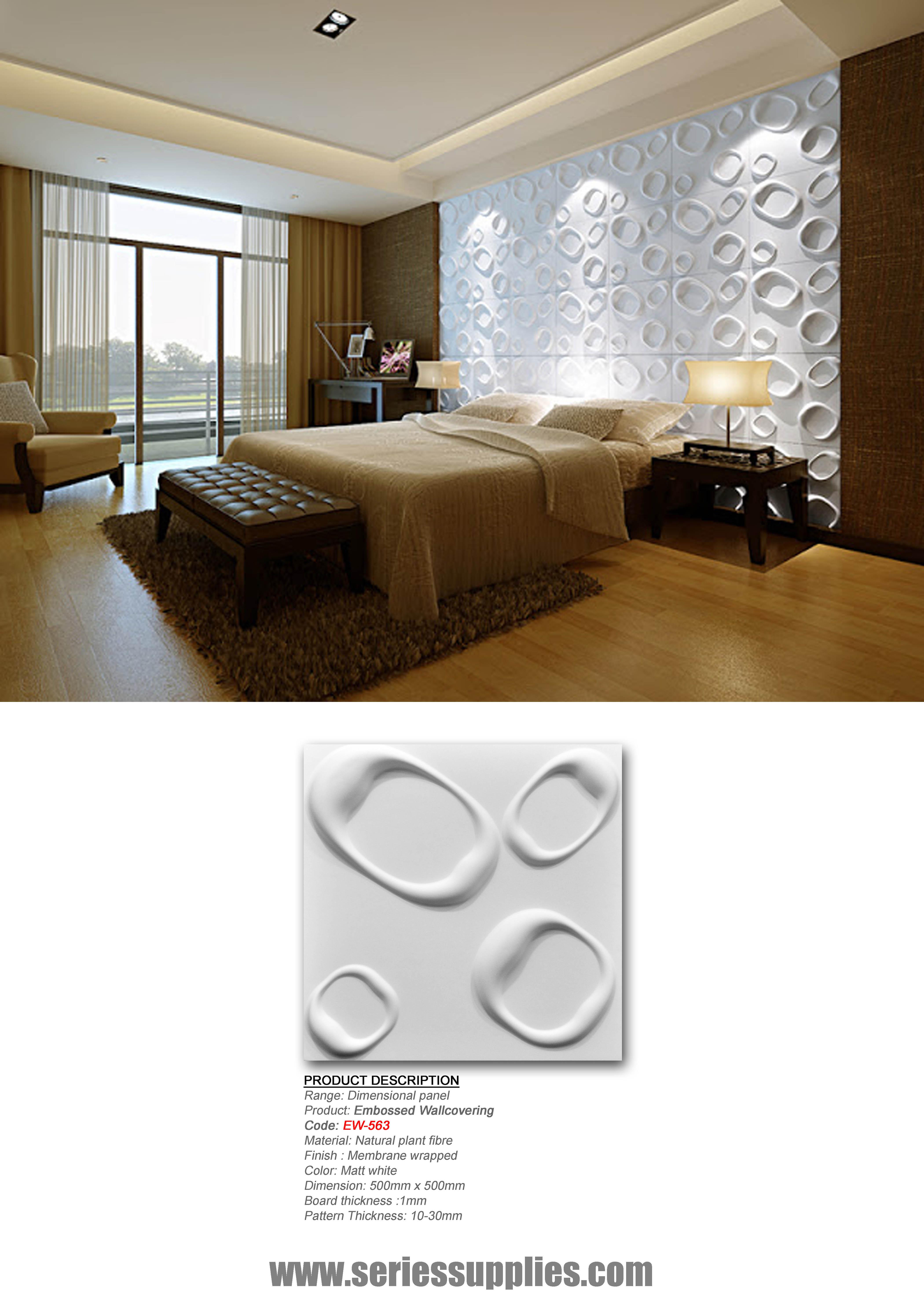 DIY 3D wall Panel