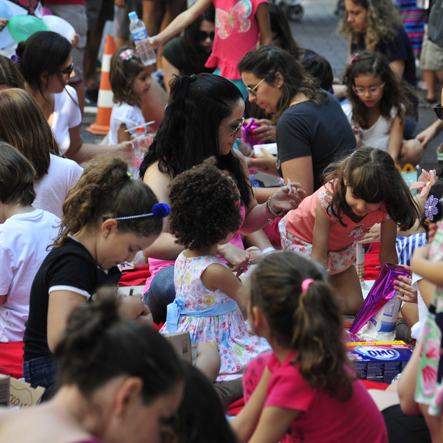 Oficina na rua, organizada pelo CAU/MG. Foto: Pistache Editorial