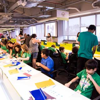 Oficina para a Alelo sobre a Cidade do Futuro. Foto: Pistache Editorial