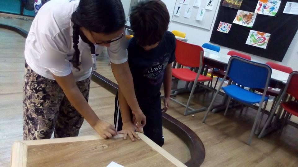 Escalas e medições fizeram parte das aulas de arquitetura para crianças