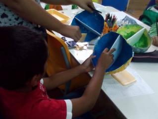 Como usar o Casacadabra na sala de aula: maquetes, pinturas e discussão sobre arquitetura
