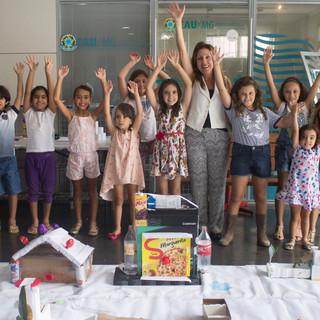 Oficina Casacadabra no IAB-MG. Foto: Pistache Editorial