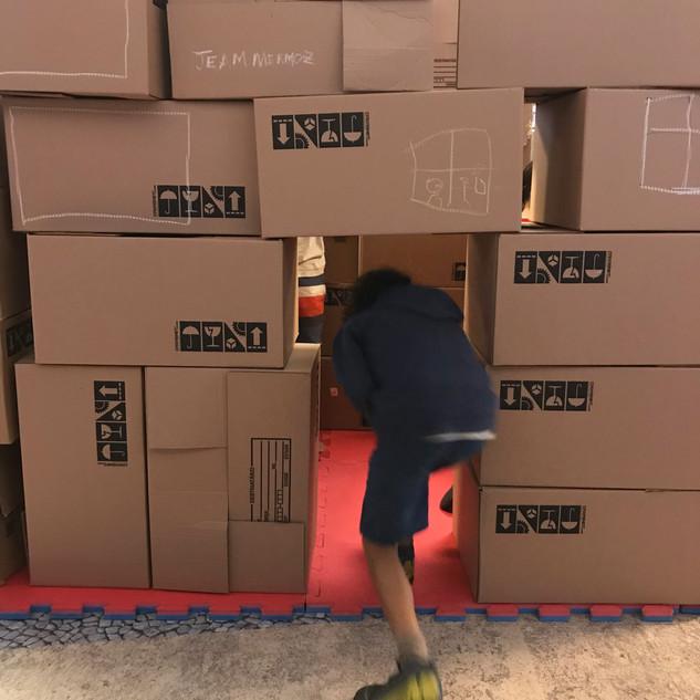Escalas e construção de espaços. Foto: Pistache Editorial.