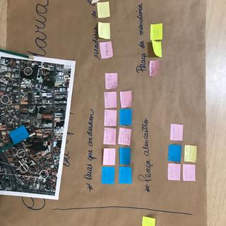 Atividade de análise do centro de Cuiabá, MT. Foto: Pistache Editorial