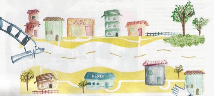 Ilustração: Marcella Briotto (reprodução: Arquitetura & Construção)