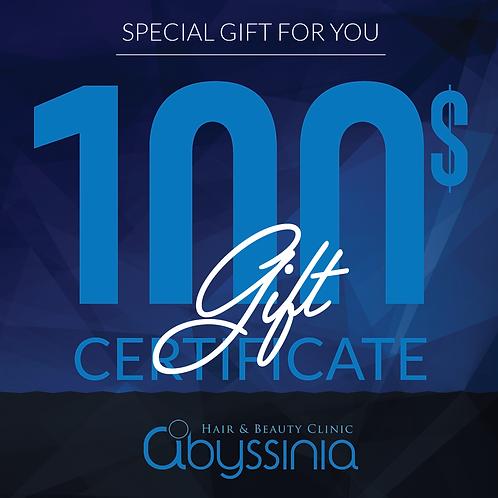 Renton $100 Gift Certificate
