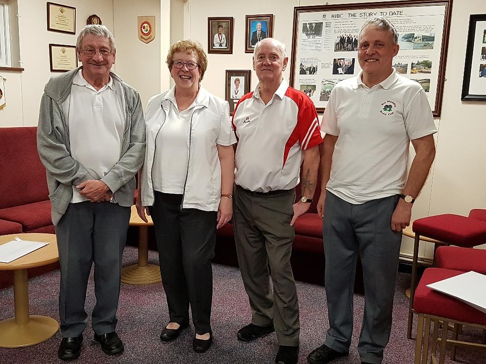 Runners Up Mel Westaby,Marie hammond, Steve Johnson & Martin Bailey