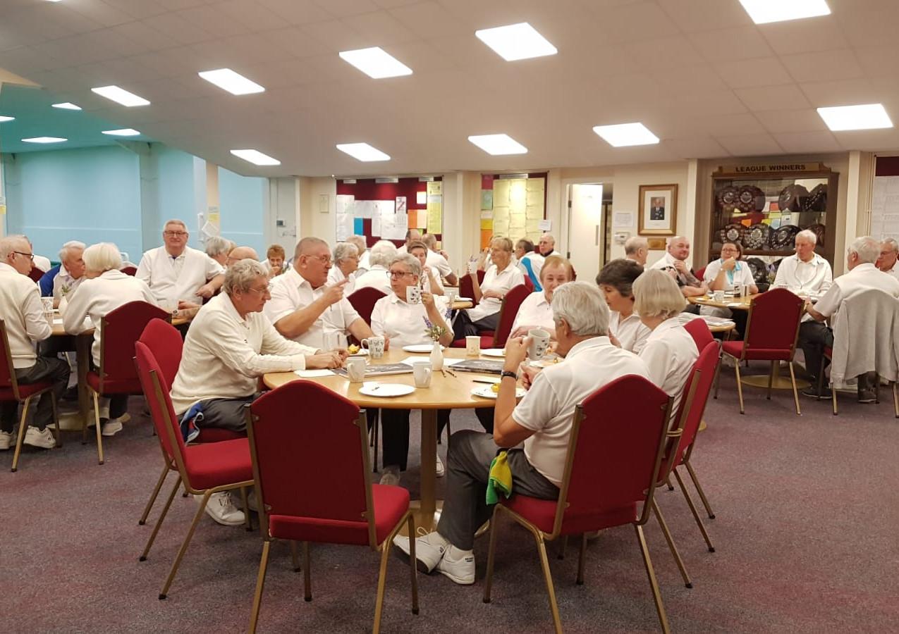 Members enjoying afternoon tea!