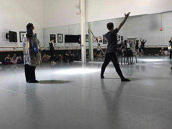 Sherry Moray teaching at The Academy of Dance Arts