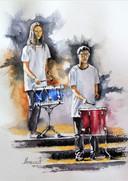 Au rythme des tambours