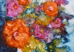 Bouquet sur Yupo