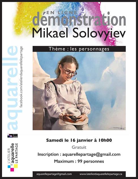 Affiche Démo M.SOLOFVYEV