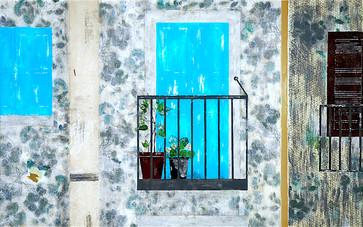 Calabria, Italy windows and door