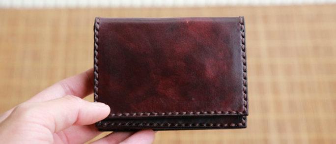 酒紅卡片夾,短夾,錢夾, 可客製化