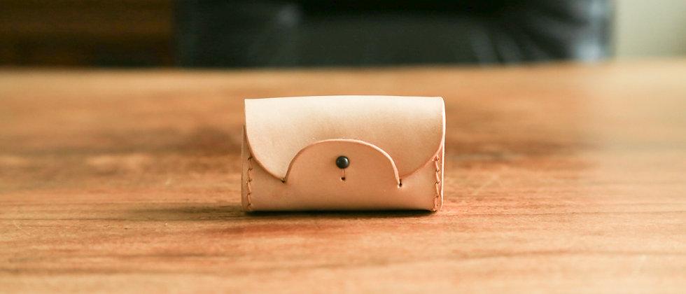植鞣革真皮革手工手縫 零錢包,零錢收納,小物收納
