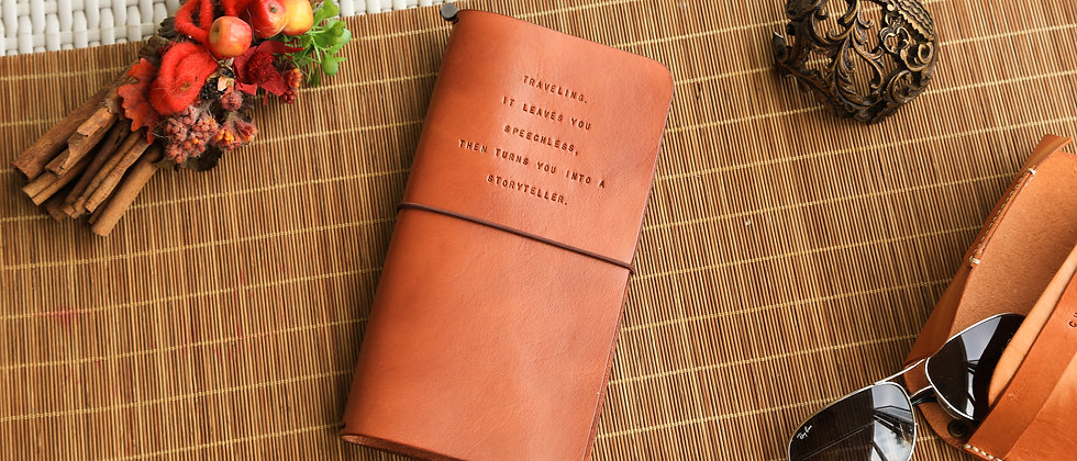 旅行筆記本, 三橡筋式行動手帳, 連筆記本
