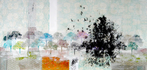 blackbirds singing in the pattern of change