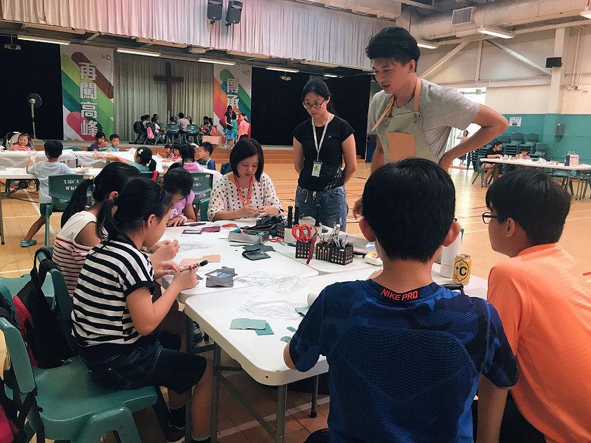 HYKC 和 烏溪沙青年中心合作