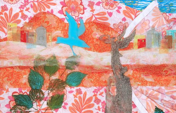 temple bird meets angel