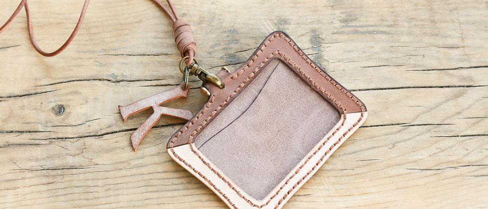 材料包, 皮製証件套, 拼色卡片套手縫材料包