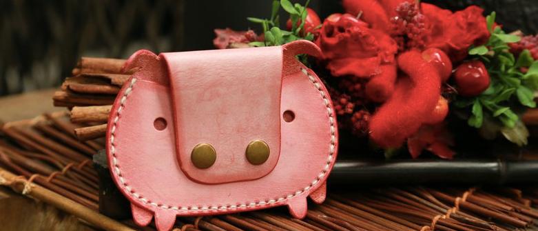 材料包, 小豬卡片套, 動物証件套, 可代製作
