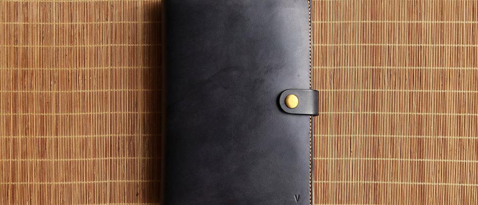 手縫A4真皮筆記薄本, 書套, 可客製尺寸