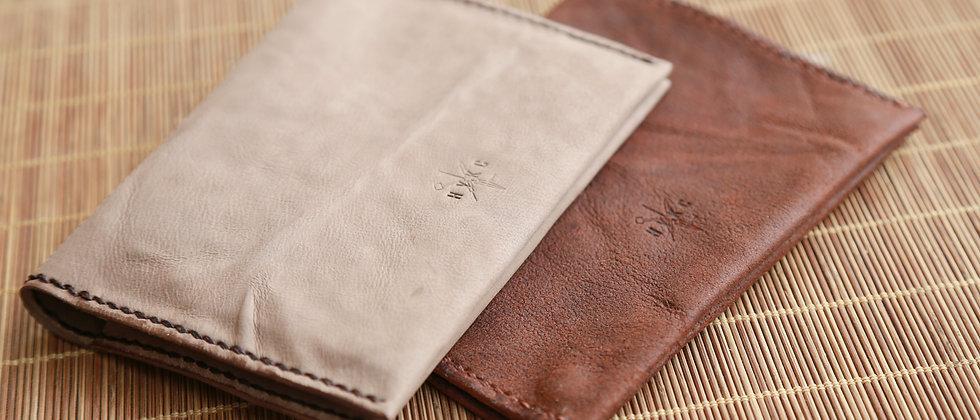 羊皮護照夾簡約羊皮護照套