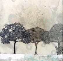 three shades of tree