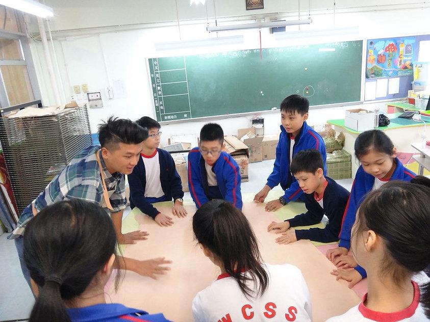 HYKC workshop 和 香海正覺蓮社佛教黃藻森學校合作