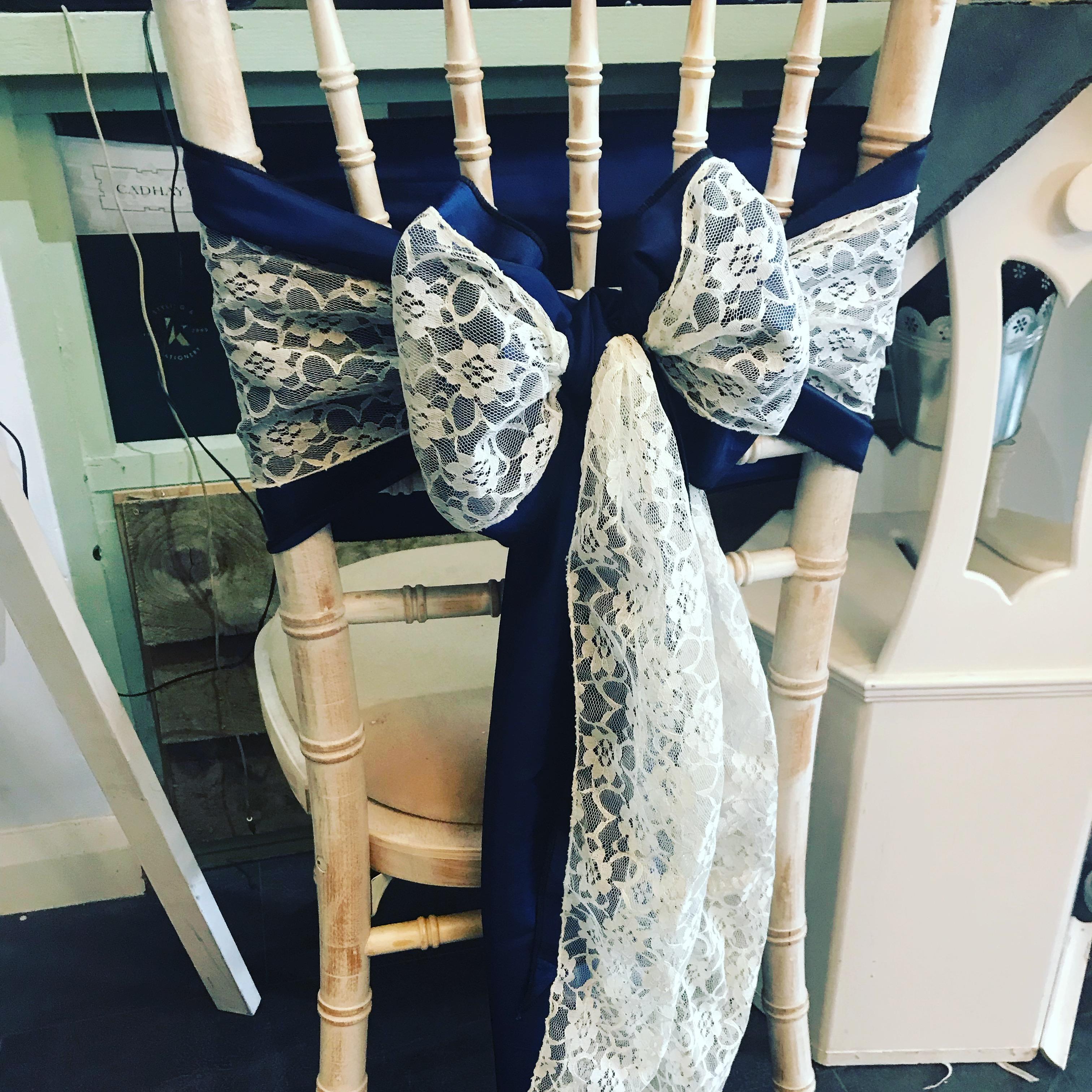Lace Chair Sash