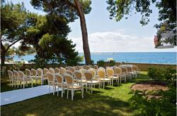 Villa Polesini Garden Wedding Croatia
