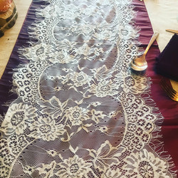 Delicate Lace Runner