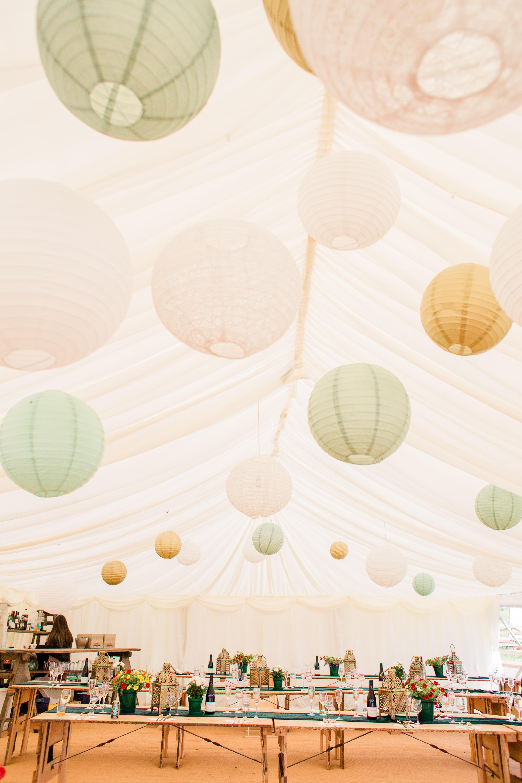 hanging lanterns