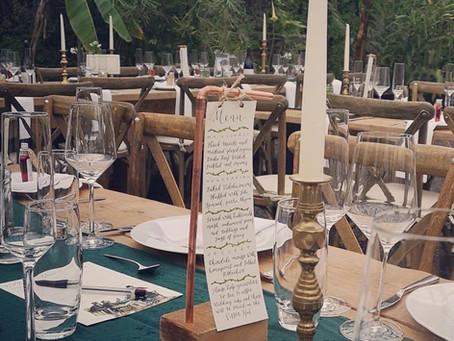 Wedding Styling Trends 2020