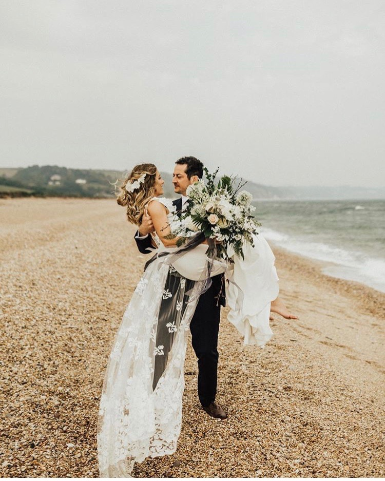 Beach weddings devon