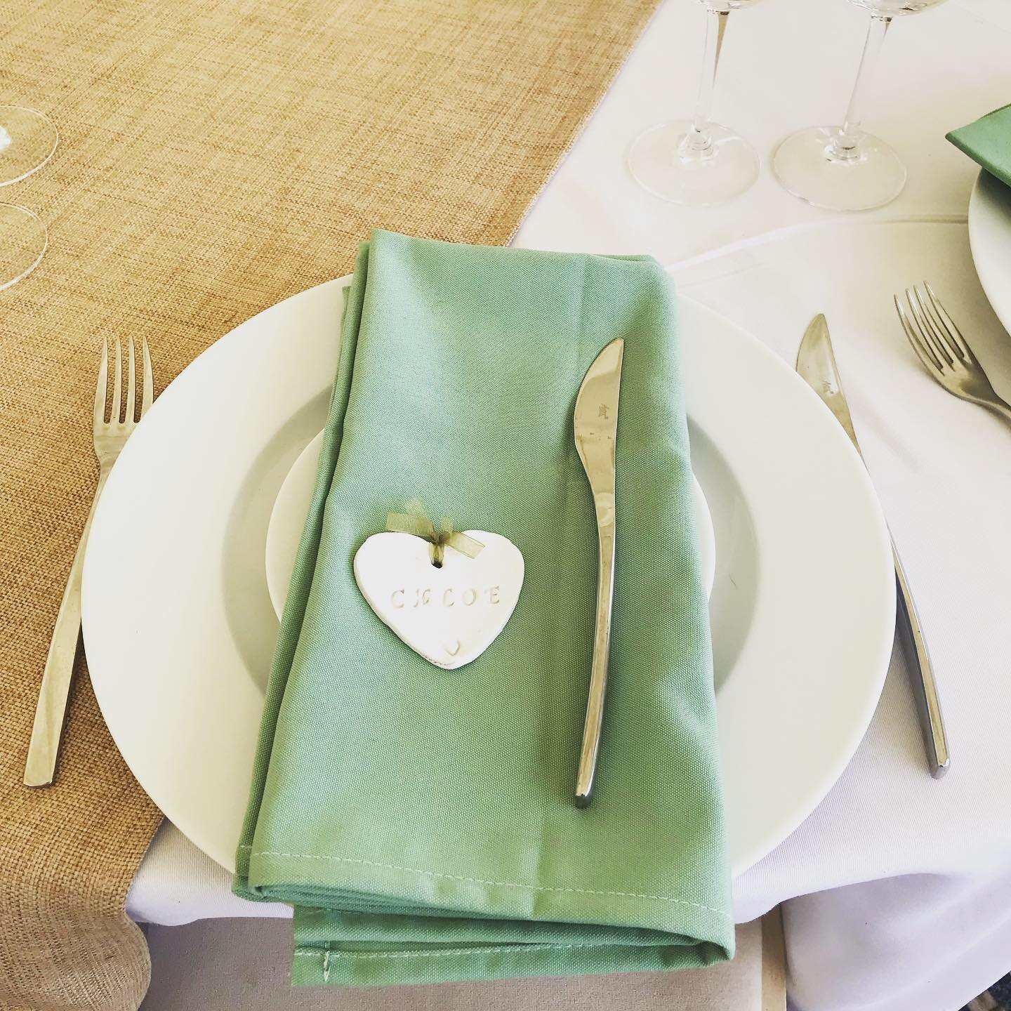 Sage cotton Napkins
