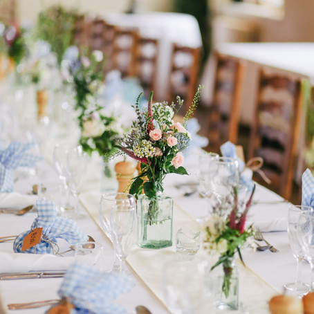 5 expert tips for a low-waste wedding reception