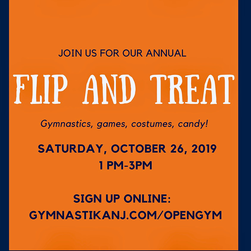 Annual Flip & Treat! - this event is CLOSED!