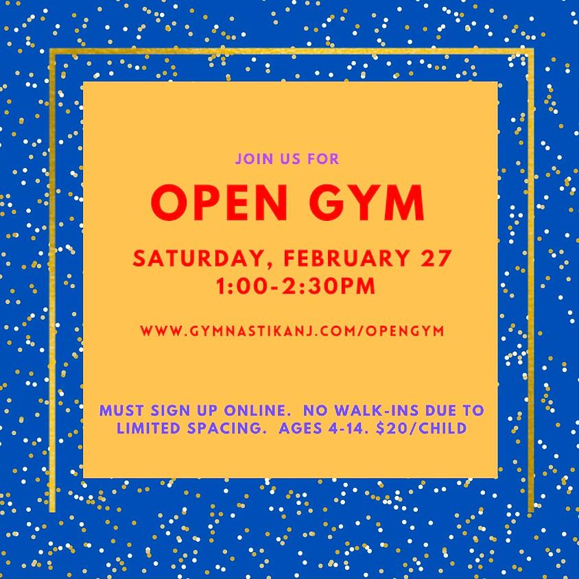 Open Gym:  Saturday, February 27th