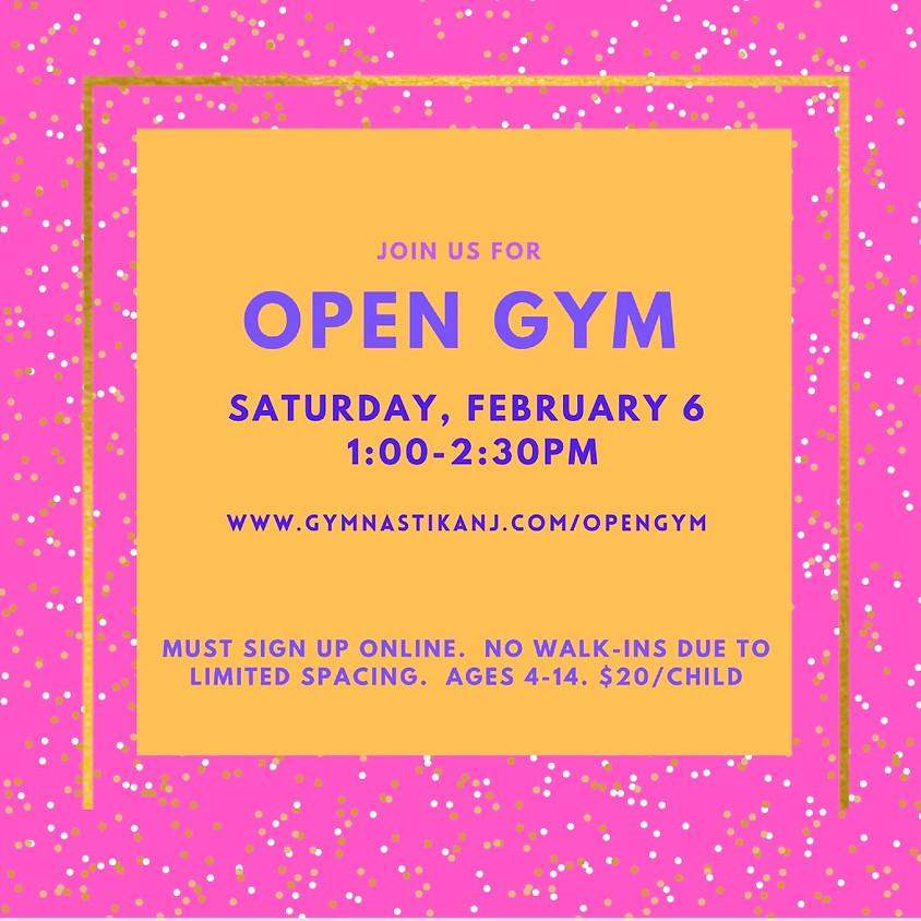 Open Gym:  Saturday, February 6th