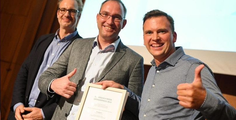 Unisphere rewarded at Schwäbisch Media Start-up Competition