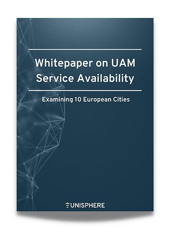 Whitepaper on UAM Service Availability - Examining 10 European Cities - Operational Analyt