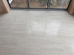 Kitchen floor,porcelain tile,brick bond