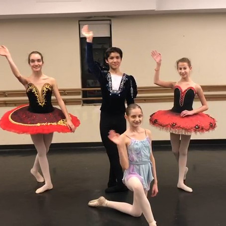 Preparation for YAGP  2019 Ballet Competition