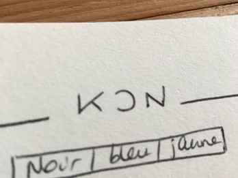 Kon, finement.