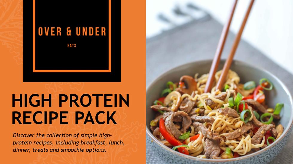 High Protein Recipe Ebook