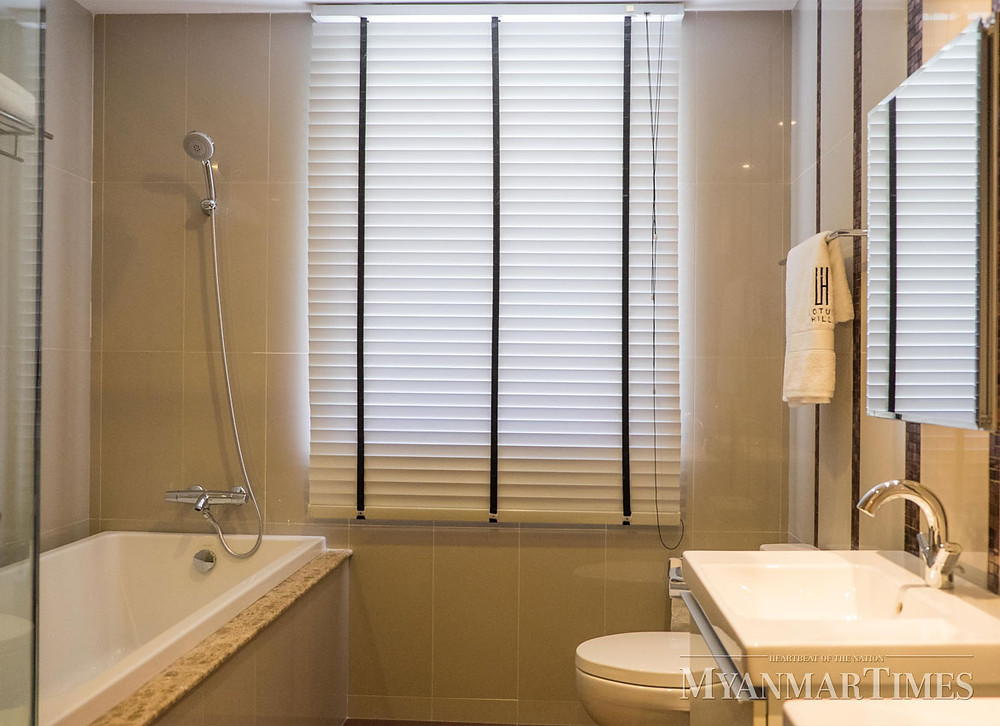 Interior Design, Cozy Bathroom of Lotus Hill, Pun Hlaing golf estate, lowest density community with luxurious lifestyle