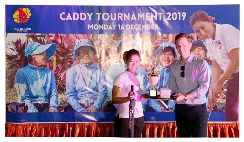 Caddie Tournament Winner