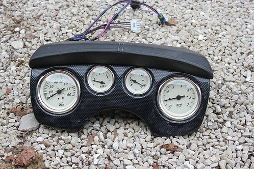 BOAT GAUGE CLUSTERS WITH WIRING HARNESSES