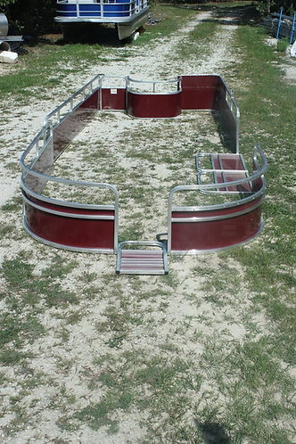 PONTOON BOAT RAILING SECTIONS